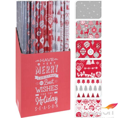 Karácsonyi csomagolópapír 70x200 6féle mintával