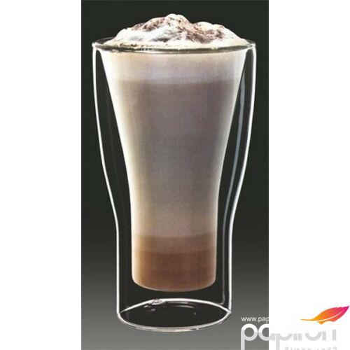 Kávéspohár duplafalú üveg Latte macchiatos pohár34cl, 2db-os szett