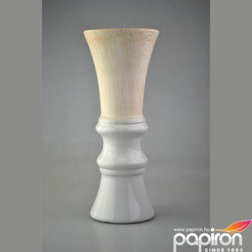 Kerámia váza görög fehér fa