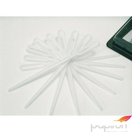 Műanyag keverőlapka 1000db/csomag Műanyag evőeszközök