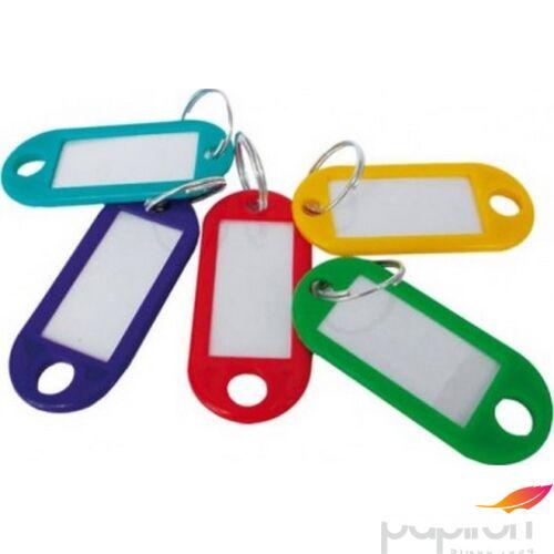 Kulcsbiléta műanyag vegyes színben (50db/henger) Office Art