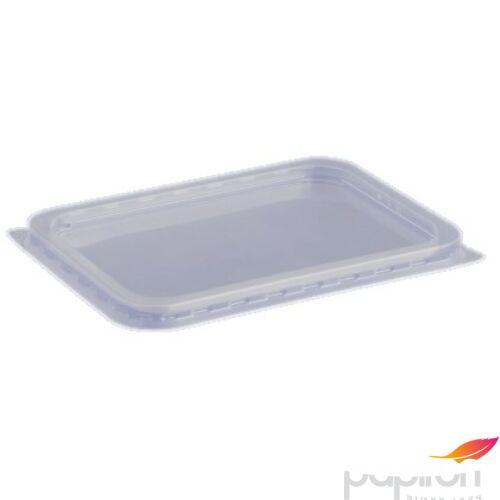 Műanyag Svédtál tető PP szögletes