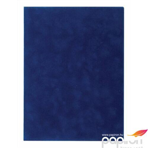 Oklevéltartó plüss A4 kék Victoria