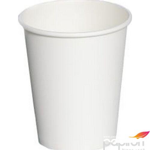 Papír pohár 2dl fehér üditős 50db/csomag