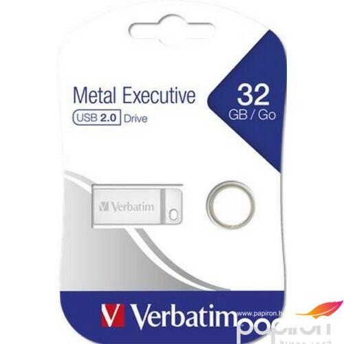 Pendrive 32GB USB 2.0 VERBATIM Exclusive Metal