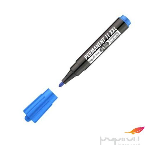 Permanent 11XXL kék 3mm kerek hegyű alkoholos filc alkoholos marker, filc