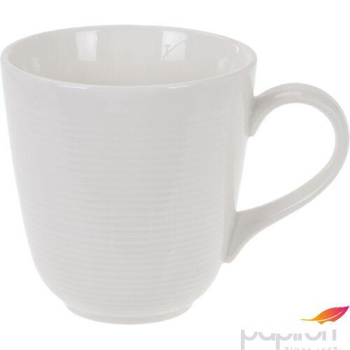Porcelán bögre 385ml Fehér 10x9,5cm
