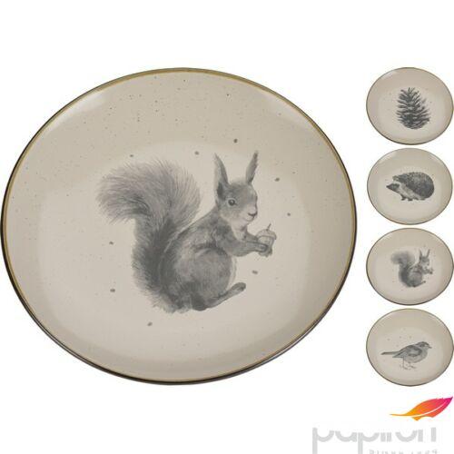 Porcelán tányér Kőhatású 26cm