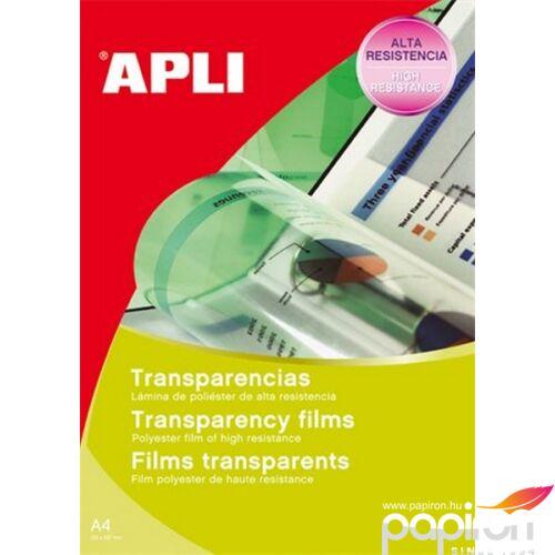 Írásvetitő fólia A4 Apli fénymásolóba, adagolóba tölthető 100lap Prezentáció APLI 00860