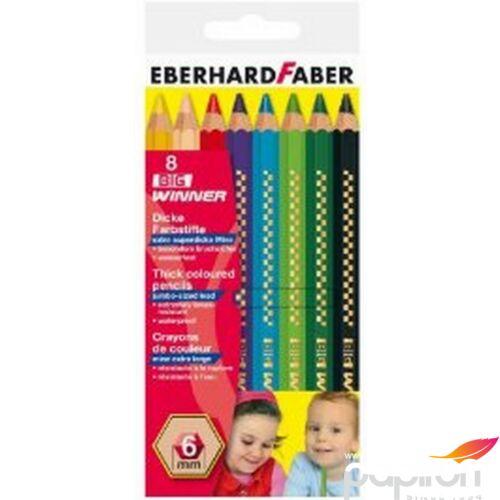 Eberhard Faber Színes ceruza 8db Big Winner E518708 E518708