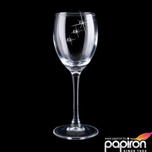 Swarovski pohár Venezia 65ml kristállyal díszített snapszos pohár MADE WITH SWAROVSKI ELEMENTS