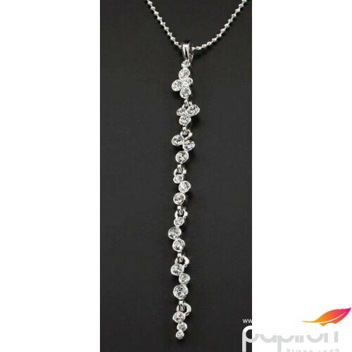 Swarovski nyaklánc hölgyeknek fehér kristályokkal díszített