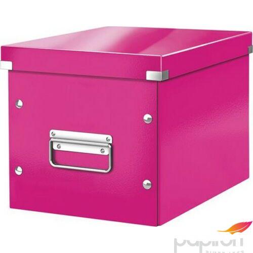 TároLó doboz lakkfényű M méret LEITZ Click