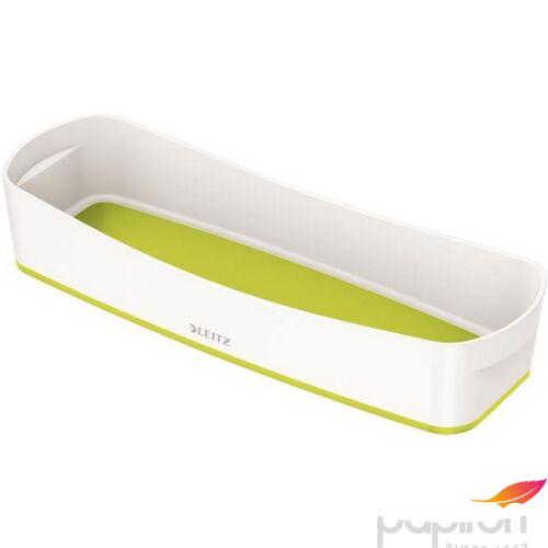 TároLó doboz tálca keskeny LEITZ MyBox fehér-zöld 5258-10-64