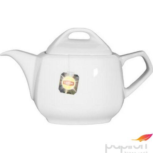teáskanna porcelán Rotberg fehér, 1,1l, Oktogon