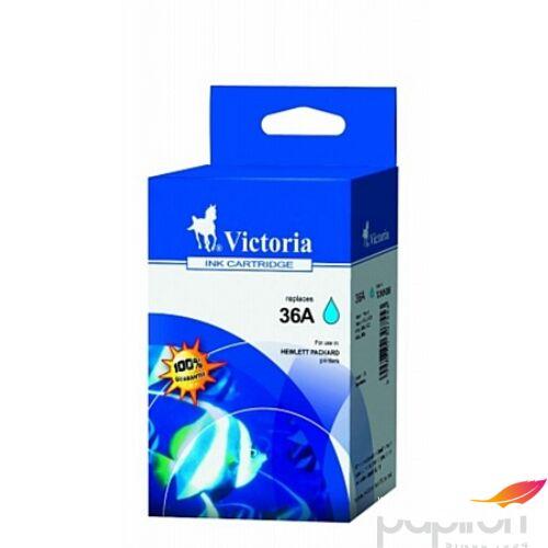 Festékpatron Victoria kék HP Nr.36A