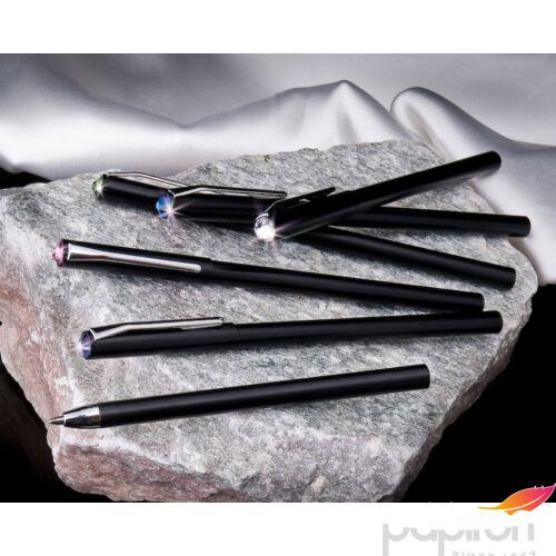 Swarovski toll fekete te 20 Peridot Zöld Kristály Díszítve Made With Swarovski Elements