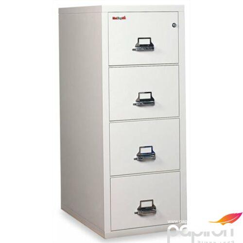 Tűzálló szekrény FireKing 4fiókos 305L 1448x539x813mm