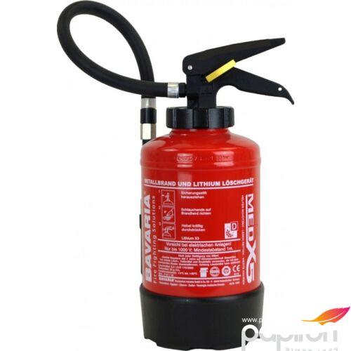 Tűzoltó készülék BAVARIA LITHIUM X3 AVD tűzultó készülék fém tüzek oltására