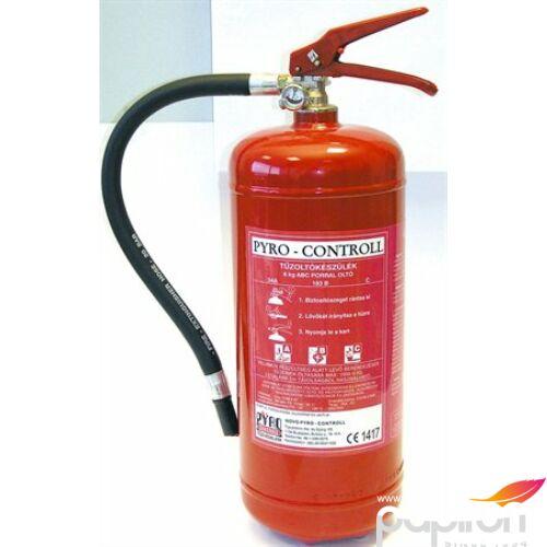 Tűzoltó készülék Porraloltó 6kg-os